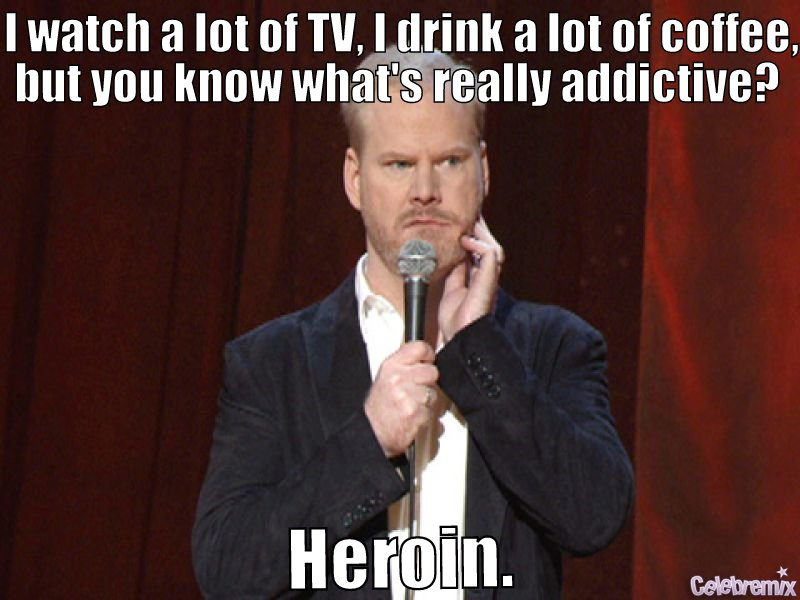 Gaffigan On Getting Addicted